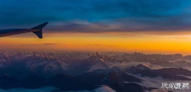 【西藏美图】三万英尺高空的西藏日出  你看见过吗?,西藏百科,西藏游记,户外攻略,西藏美图,西藏故事