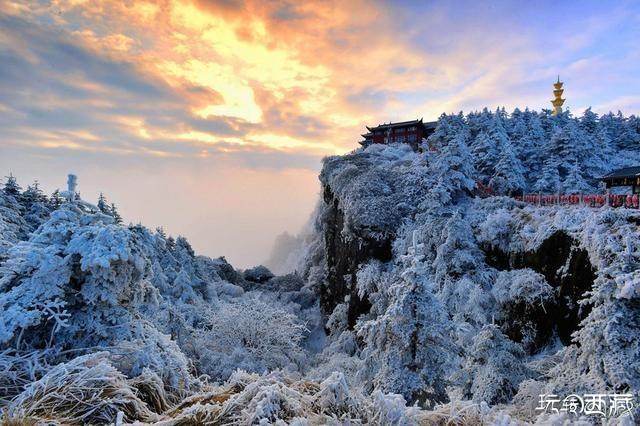 小赖摄影:冰雪峨眉山,金顶,峨眉山,图片,天空,网络