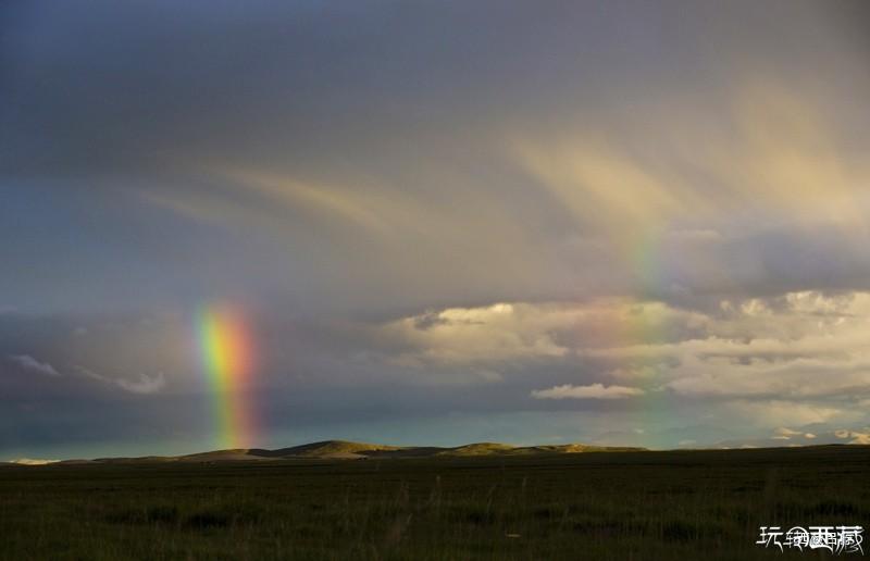 【西藏美图】圣地彩虹,若梦传奇