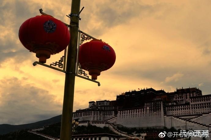 2017西藏行,(32)布宫广场