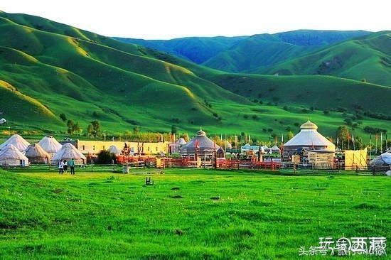 那拉提草原,一起感受下草原的美吧!