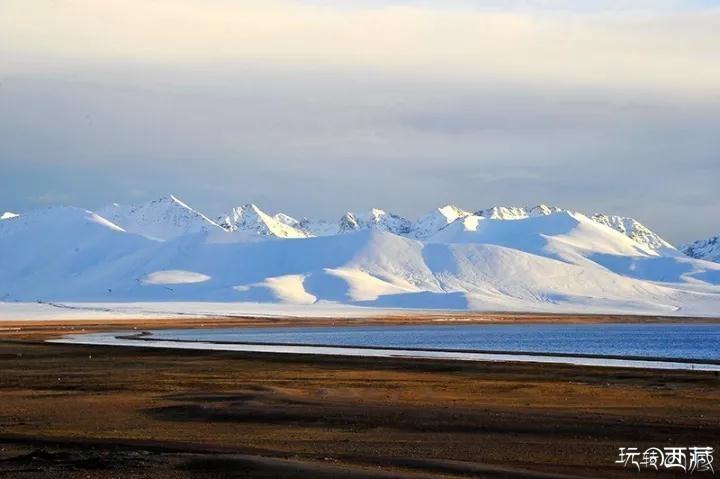 我最爱,纳木错的晚霞,西藏风光,冬游西藏