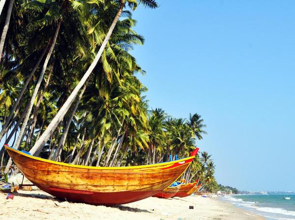 越南美奈,五彩斑斓的海滨假日