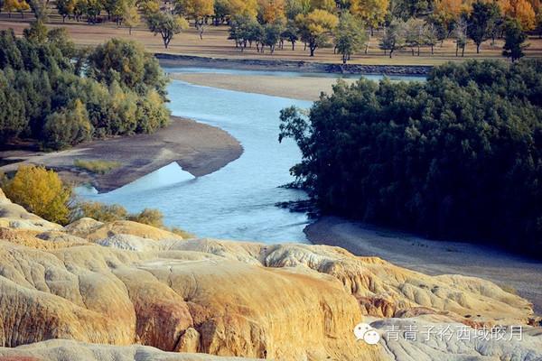 人间最牛色彩大师的杰作-新疆布尔津五彩滩
